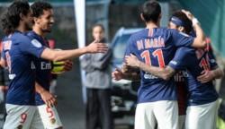 Con goles de Neymar y Di María, PSG derrotó 2-1 al Angers.
