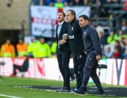 Con un gol de Kemar Roofe, el Leeds de Bielsa derrotó 1-0 al Derby County de Lampard como visitante.