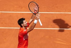 Nole se metió por tercera vez en su carrera a la final del Masters 1000 de Madrid.