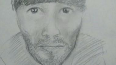 El identikit del sujeto atacante.