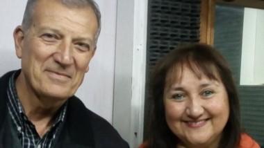 Norma Arbilla junto a Juan Devetak, de cara a las generales en Esquel.