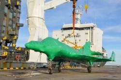 Los aviones tienen un largo aproximado de 14 metros y 10 de ancho y un peso promedio de 6,5 toneladas.