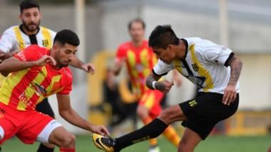 """El """"Aurinegro"""" pulverizó por  3-0 a Sarmiento de Resistencia en el partido de ida de los cuartos de final de la Reválida en el Abel Sastre."""