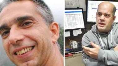 El hombre desaparecido, Rodrigo Fernández (izq), tiene 48 años. Marcos Darío Jones, amigo  de Fernández, habló con Jornada.