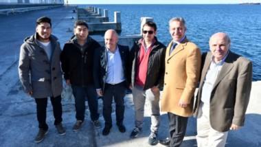 El gobernador mostró la volultad del Estado Provincial para poder finalizar la obra de infraestructura en el muell Storni con fondos propios.