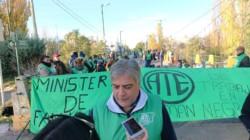 Inquieto. Samuel Vargas, líder del EMA, uno de los cuatro gremios que hoy estarán en la conciliación.