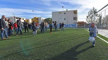 Las obras realizadas apuntan a poder mejorar la calidad de vida de los vecinos y recuperar el espacio de la cancha de fútbol como elemento integrador.