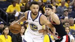Stephen Curry fue la figura del partido con 36 puntos, 7 asistencias y 6 rebotes.