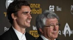 El presidente del Atlético de Madrid habló sobre la partida del francés, aseguró que lo sorprendió.