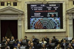 Diputados aprobó la nueva ley de Financiamiento Político: los aportes a los partidos serán bancarizados.