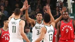 Bucks se queda con el primer juego ante Raptors en la final del Este.