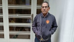 Gerardo Escobar, y una peculiar protesta.
