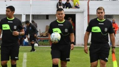 Hugo Jaramillo, Guillermo Ulloa y Nicolás Díaz, tres de los renunciantes al SADRA en Chubut.