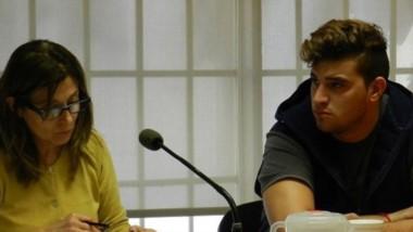 Maximiliano Larrabaster, acusado de asesinar a Raquel Maldonado.
