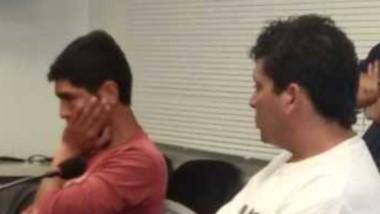 Alejandro Triviño y Juan Bernardo, acusados de hurto. Van a juicio.