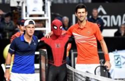 Djokovic canceló el sueño de Schwartzman en Roma.