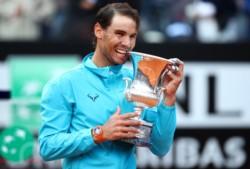 El español se alzó con la copa del ATP de Roma 2019 y rompió la mala racha de la temporada de polvo de ladrillo.