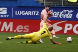 Messi llevó su rutina de lo extraordinario a Eibar: hizo ambos en el 2-2 de Barcelona ante el local en el cierre de La Liga.