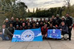 Los nadadores unirán una distancia de 6 kilómetros (foto MinutoBalcarce)