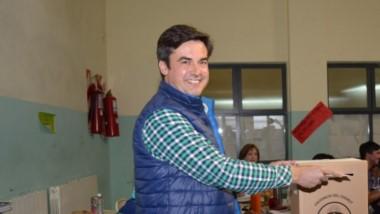 Candidato a intendente por Chubut al Frente, Crhistian Pasquini.