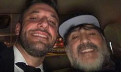 Diego Maradona bancó la precanditarura de Alberto Fernández y Cristina Kirchner.