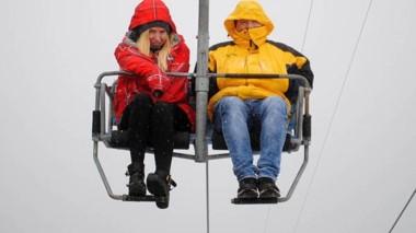 Nieve. Una de las tantas actividades que la región tiene para ofrecer a sus visitantes.