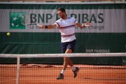Del Potro empieza a moverse en Roland Garros, donde defiende 720 puntos producto de las semifinales alcanzadas el año anteriror.