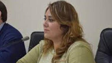 Andrea Moyano, concejala por el PJ-FPV.