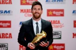 Messi gana por sexta vez en su carrera y por tercer año consecutivo el Botín de Oro.