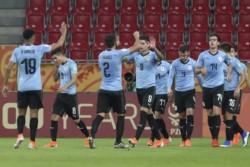 Con goles de Darwin Núñez, Francisco Ginella y Brian Rodriguez, la Selección de Uruguay venció 3-1 a Noruega.