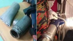 El miembro del joven había quedado atrapado en un tubo metálico de unos 30 milímetros de grosor.