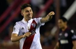 Montiel recibió el alta médica, fue exigido en la práctica de esta mañana y estará disponible para la revancha con Athletico Paranaense.