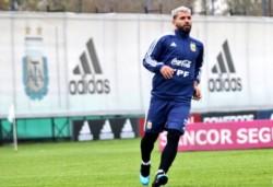 El Kun Agüero es uno de los que puso primera en Ezeiza y ya se palpita la Copa América.