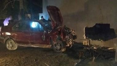 La pareja que iba en el auto, según el informe policial, tenía aliento etílico  y eso podría haber sido la causal.