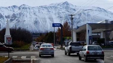 Nieve. Desde Esquel se puede observar la imponente postal blanca.