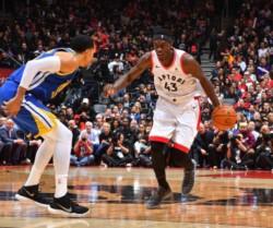Con un gran partido del dúo Pascal Siakam- Kawhi Leonard, los Toronto Raptors vencieron 118-109 en condición de local a los Golden State Warriors.