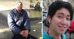 El youtuber Kenghua Ren le dio galletitas rellenas con pasta dental al pobre hombre.