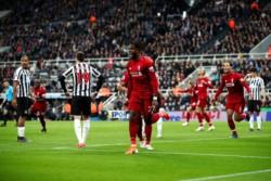 Con gol de Origi a los 41 minutos del segundo tempo, Liverpool festejó ante Newcastle.