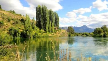 El estudio se realizó en el Río Carrileufú, en el establecimiento Los Murmullos.
