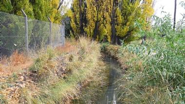Los canales ya no tienen agua y debe empezar el trabajo de limpieza.