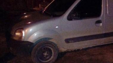 La camioneta quedó secuestrada luego de la intervención policial.