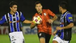 El Lobo consiguió un empate como local en el partido de ida del Reducido. (Foto: Los Andes).