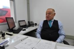 Carlos Innocenti, jefe agencia Rawson de ANSES