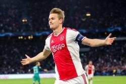 De Ligt abrió el marcador temprano, y parecía imposible que se le escape la clasificación a Ajax.