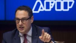 Leandro Cuccioli, titular de la AFIP, en el ojo de la tormenta.