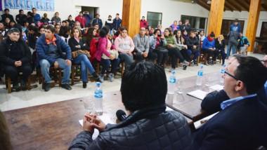El lanzamiento de la Liga Femenina Municipal se realizó en las instalaciones del club Campos de Trelew, con la presencia de Adrián Maderna.