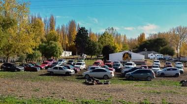 Por falta de espacio debieron llevar autos al predio de la Policía Montada.