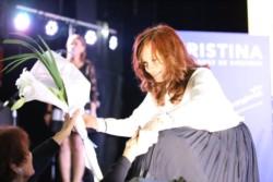 Cristina Kirchner presentó