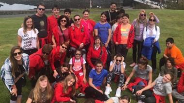 Viaje de estudios.Los 18 alumnos recorren distintos puntos de Gran Bretaña para su mejor formación.