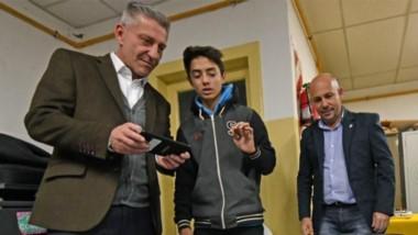 Generaciones. Mariano Arcioni y Ricardo Sastre, la fórmula de Chubut al Frente que muestra sobria confianza rumbo al domingo 9 de junio.